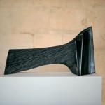 La grande vague 2, 2007, granit d'Inde, 45 x 78 x 15 cm