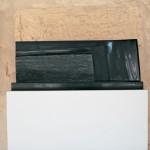 Hommage a G. Tritten, 2006, granit d'Inde, 26 x 67 x 20 cm