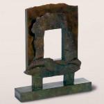 Vue sur la mer, 1998, bronze, 50 x 40 x 10 cm