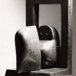 Le dernier regard, 1978, marbre de St-Triphon, 44 x 30 x 25 cm