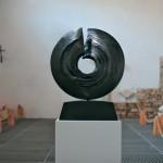 Eternité, granit d'Inde, 2008,  ∅ 80 cm