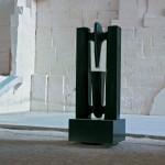 L'envers et l'endroit, granit d'Afrique, 260 x 100 x 100 cm