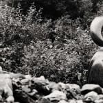 Jeune fille éternelle, 1998-2001, granit d'Afrique, 226 x 55 x 50 cm