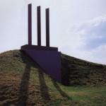 Montagne, 1990, granit d'Afrique, 700 x 333 cm