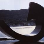 La spirale, 1992, granit d'Afrique, 143 x 205 x 100 cm