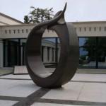 Zen No Maru, 1993, granit d'Afrique, ∅ 333 cm