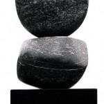 Sans titre, 1974, marbre de Collombey, 70 x 20 cm