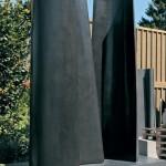 Les amants 6, granit d'Inde, 315 x 250 x 120 cm