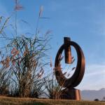 L'anneau, 2000, Granit d'Afrique, 230 x 130 x 40 cm, Nestlé Nespresso SA,Paudex