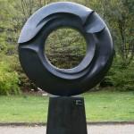 La mémoire et la mer, 2007, bronze, 280 x 180 x 40 cm