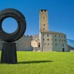 Eternité 2, 2011, bronze, 260 x 160 x 45 cm