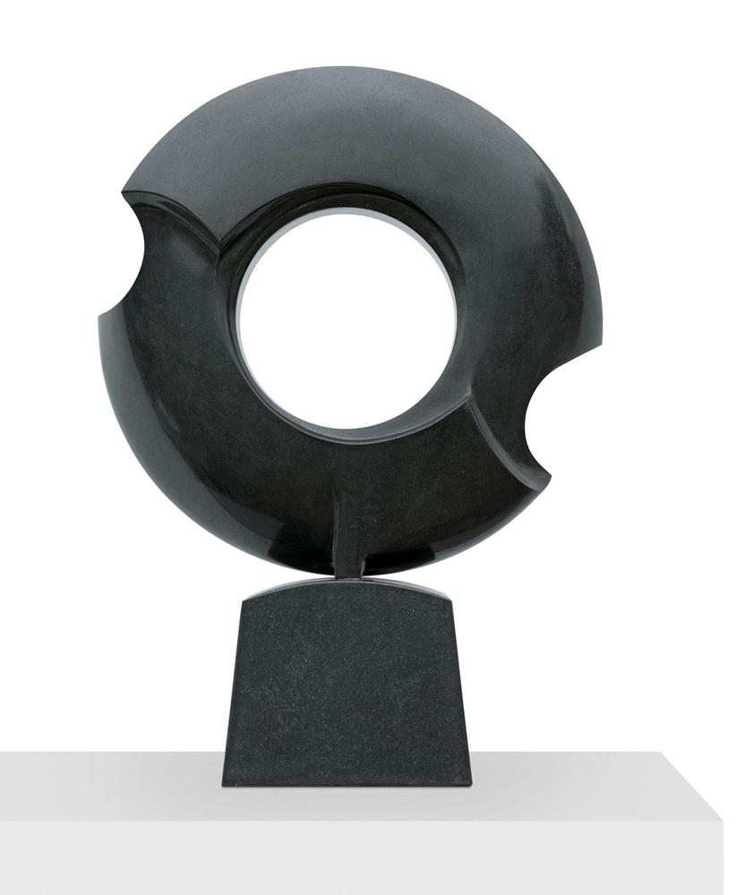 Avec le temps, Granit d'Inde, 2015, 68 x 48 x 13 cm
