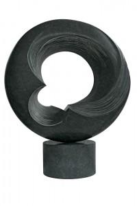 Dans la tourmente 1, Granit d'Inde, 2013, 86 x 70 x 25 cm