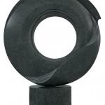 Dans la tourmente 2, Granit d'Inde, 2013, 88 x 70 x 25 cm