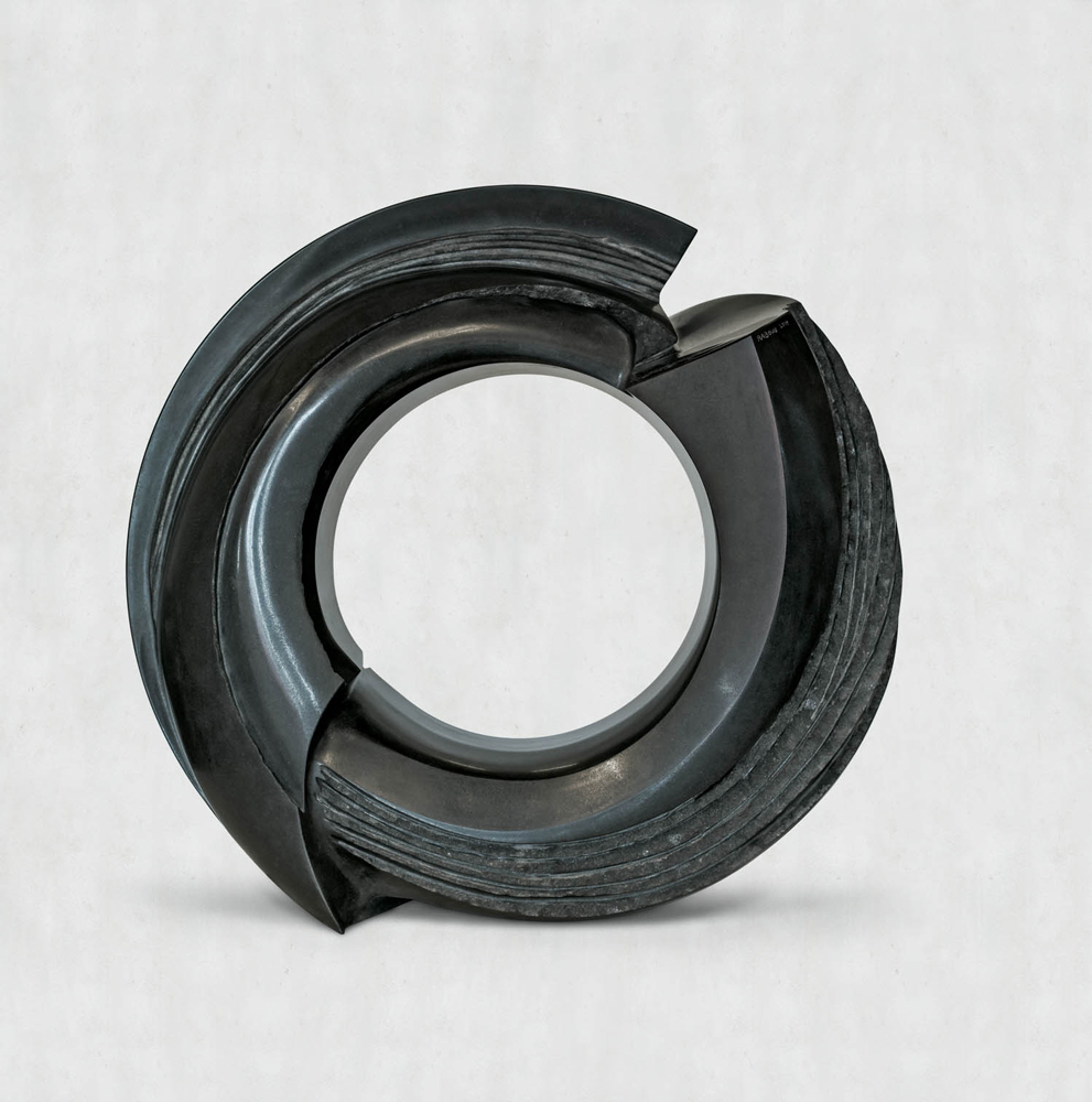 Energie, Granit d'Inde, 2013, ø 110 x 45 cm