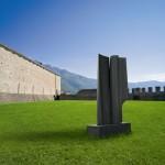 Les amants 5, Granit d'Afrique, 2008, 280 x 145 x 70 cm