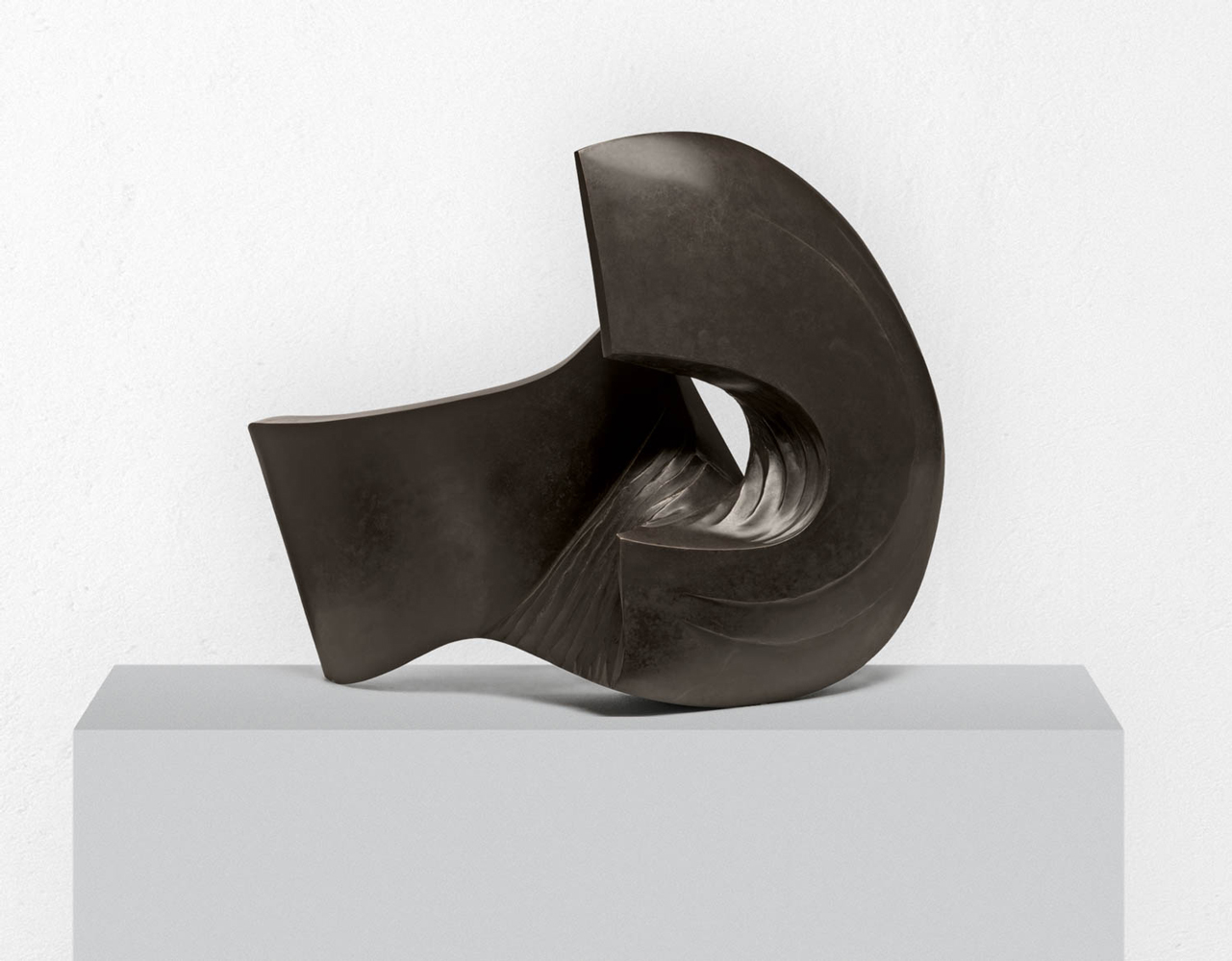 L'âme de fond 2, Bronze, 2012, 53 x 75 x 36 cm