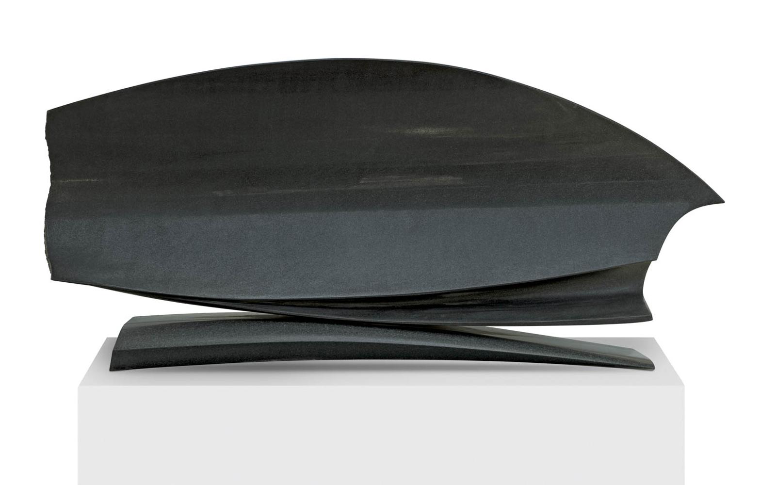 Le grand réflecteur, Granit d'Inde, 2014, 80 x 160 x 45 cm