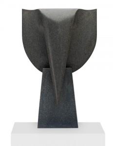 Mémoire, Granit d'Afrique, 2015, 111 x 70 x 30 cm
