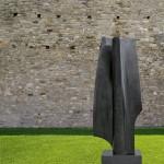 Les amants 9, Granit d'Inde, 2010, 195 x 65 x 40 cm