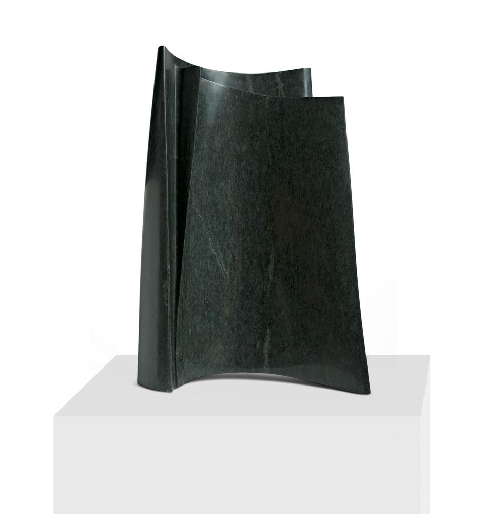 Page marine 2, Granit d'Inde, 2012, 109 x 85 x 47 cm