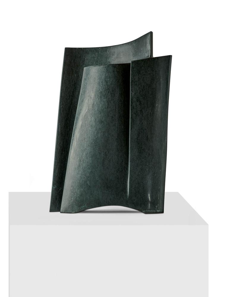 Page marine 3, Serpentine, 2013, 70 x 45 x 15 cm
