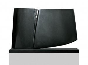 Sous ton aile, Granit d'Inde, 2009, 53 x 73 x 20 cm