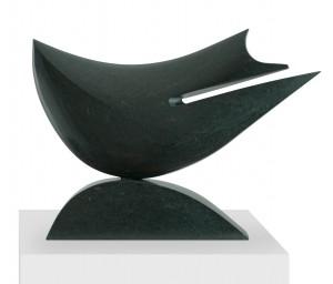 Vague maligne, Serpentine, 2012, 52 x 76 x 12 cm